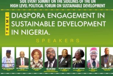 Engaging with African citizens living in the Diaspora